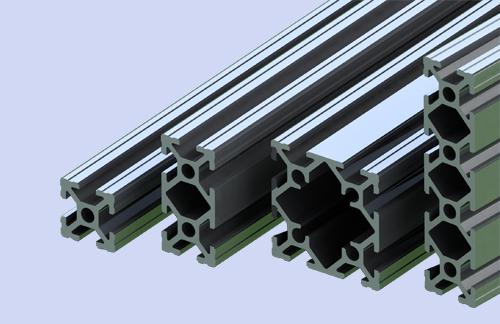20系列标准框架型材部分